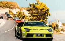 Lamborghini Club Indonesia Touring dan Explore Tempat Eksotis di Bali