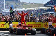 Menang F1 Amerika, Kimi Raikkonen Podium Puncak Lagi Sejak 2013