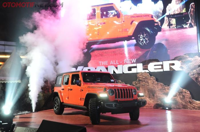 Jeep Wrangler JL resmi hadir di Indonesia