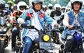 Bergaya Mirip Jokowi, Ini Pesan Menhub Saat Safety Riding