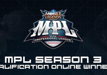 Ini Dia 8 Tim yang Lolos ke Babak Qualifier Final MPL ID Season 3