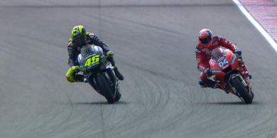 Andrea Dovizioso: Valentino Rossi Tak Bisa Raih Juara Dunia  Ke-10 Tanpa Kemenangan Balapan