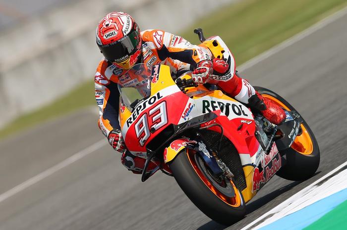 Marc Marquez juara MotoGP Thailand 2018