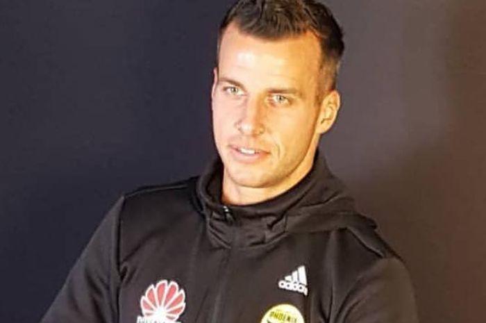 Steven Taylor, mantan pemain klub Liga Inggris, New Castle