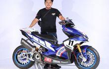 Yamaha Aerox Juara Master Customaxi Bandung, Biaya Setara Dua Buah Freego