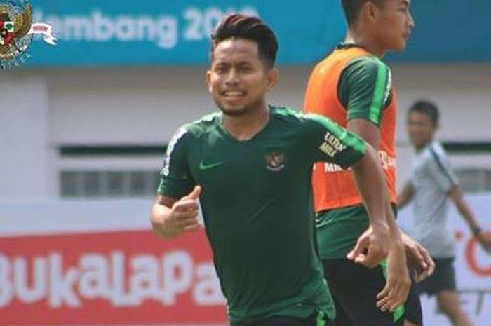 Pemain timnas Indonesia, Andik Vermansah.