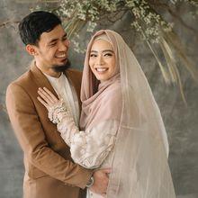 Gelar Resepsi Pernikahan, Tengok Cantiknya Lindswell Kwok Berbalut Gaun dan Hijab Putih