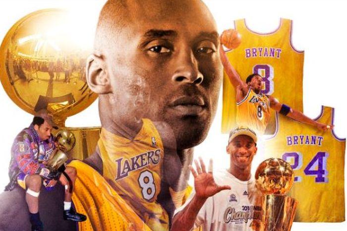 Pebasket legendaris Los Angeles Lakers, Kobe Bryant.
