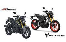 Selisih Rp 4 Jutaan, Apa Saja Bedanya Yamaha MT-15 dan Xabre?