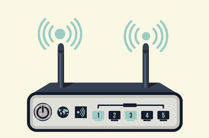 Ilustrasi Router