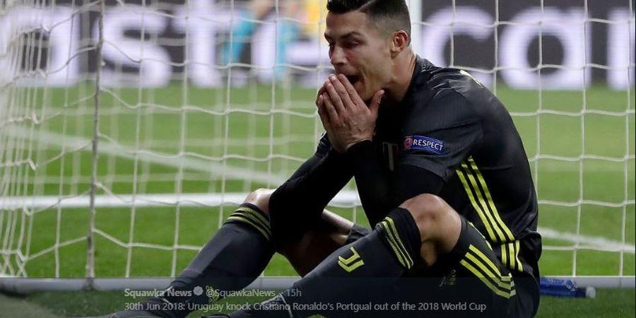 Gawat, Cristiano Ronaldo Dijadwalkan Jalani Tes untuk Cedera Engkel