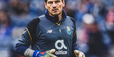 Iker Casillas Ungkap Keinginan Kembali ke Real Madrid