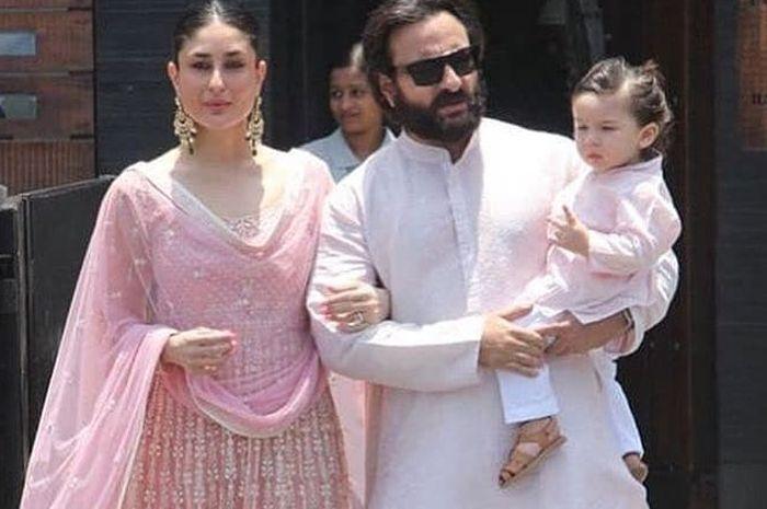 Kareena Kapoor dan Saif Ali Khan berbagi tugas dalam mengasuh Taimur