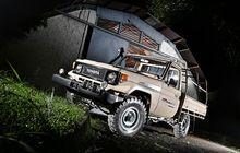 Restorasi Sang Pikap Langka dan Tampan Toyota Land Cruiser FJ75