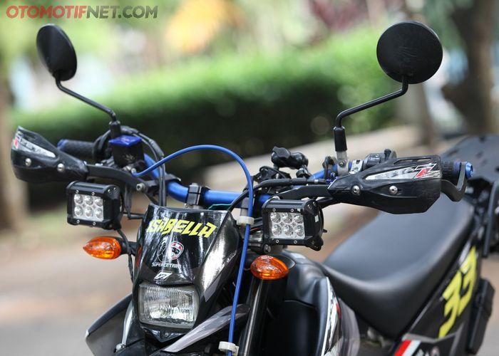 Yamaha WR250X Supermoto,  setang gunakan merek Zeta