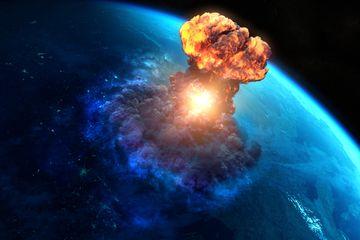 Asteroid Pemusnah Dinosaurus Picu Tsunami Besar di Seluruh Laut Dunia