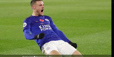 Leicester Yakin Cedera Jamie Vardy Tidak Akan Berlangsung Lama
