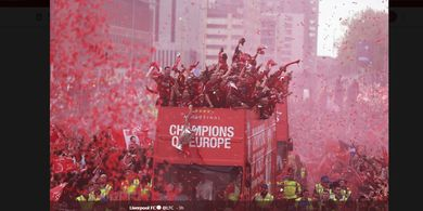 We Won It 6 Times - Update Lirik Lagu Liverpool Usai Juara Liga Champions