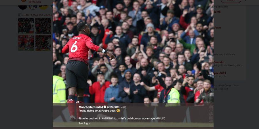 Hasil dan Klasemen Liga Inggris - Spurs, Manchester United Naik Peringkat