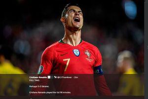 Cristiano Ronaldo Dibikin Frustasi oleh Shevchenko Saat Comeback Bersama Timnas Portugal