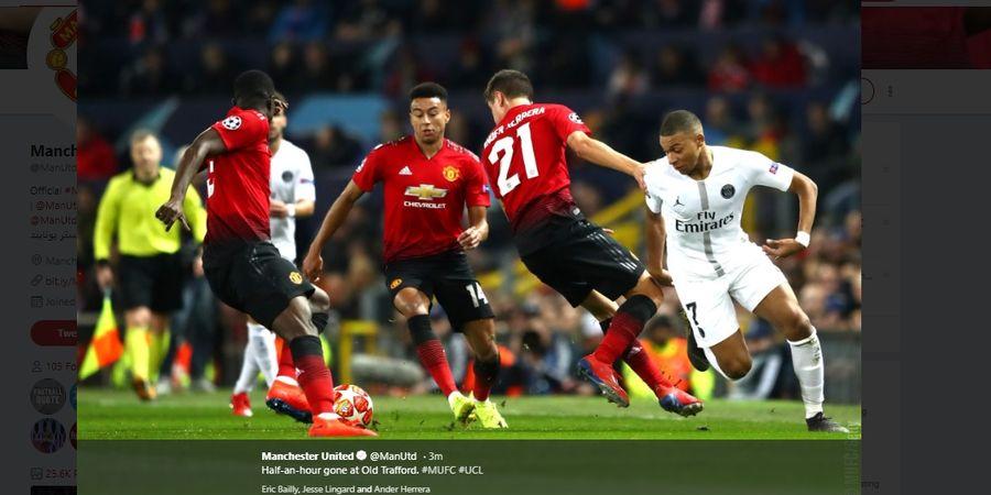 5 Fakta Manchester United Vs PSG - Rekor Buruk Membayangi Setan Merah