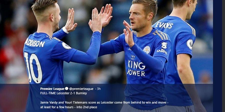Hasil dan Klasemen Liga Inggris - Comeback Leicester hingga Kontroversi Spurs