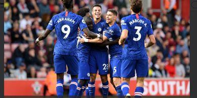 Starting XI Chelsea Vs Newcastle - Empat Pemain Muda Inggris Starter