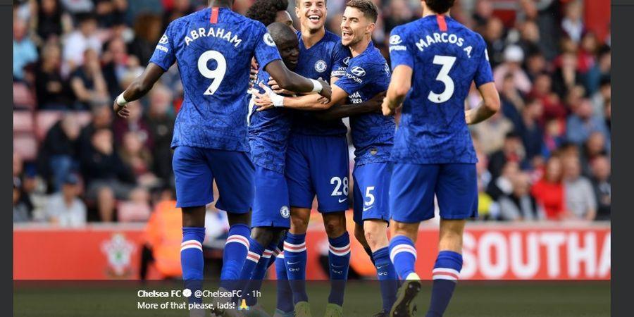 Hasil Liga Inggris - Chelsea Pesta Gol di Kandang Southampton