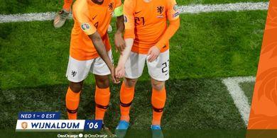 Hasil Kualifikasi Euro 2020 - Wijnaldum Hattrick, Belanda Pesta Gol