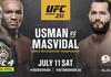 Jadwal UFC 251 - Duel Jorge Masvidal Vs Kamaru Usman untuk Gelar Juara
