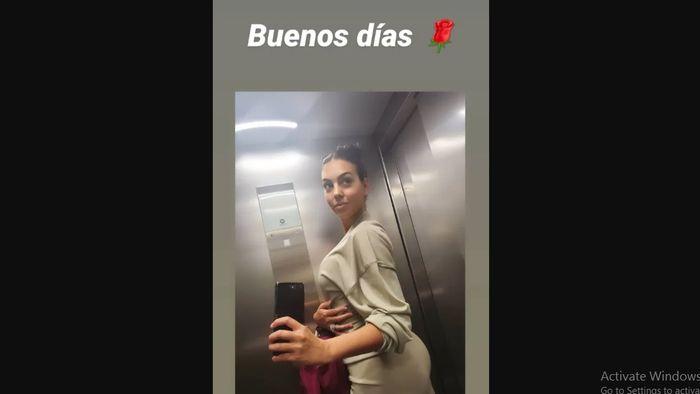 Georgina Rodriguez memicu rumor bahwa dirinya hamil anak kelima megabintang Juventus, Cristiano Ronaldo.