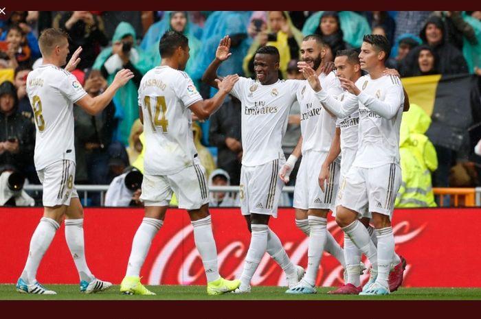 Hasil Lengkap Dan Klasemen Liga Spanyol Real Madrid Kian Dekat Ke Puncak Bolasport Com