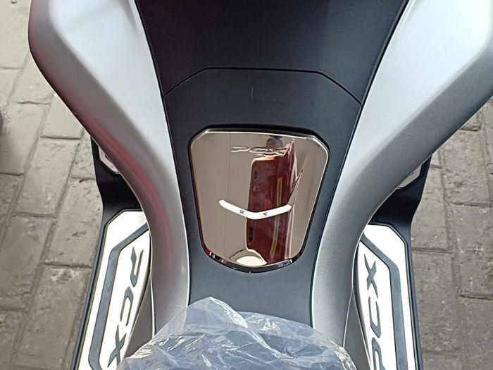 PCX ABS tutup tangki dilapis steinless