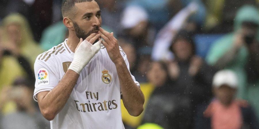 Benzema Dua Gol, Real Madrid Unggul Nyaman atas Levante