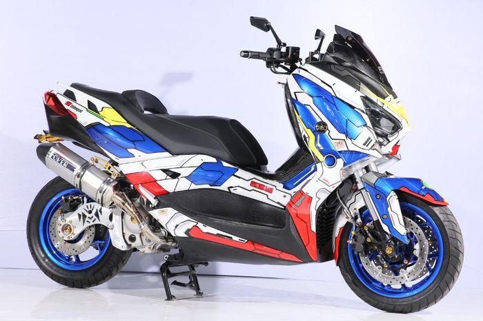 Yamaha XMAX juara kelas Master