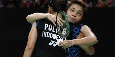 Hasil Kejuaraan Asia 2019 - Greysia/Apriyani Langsung Angkat Koper