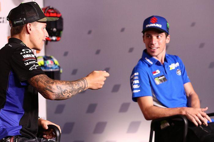 Joan Mir yakin masih memiliki peluang untuk mempertahankan gelar meski tertinggal cukup jauh dari Fabio Quartararo di MotoGP 2021