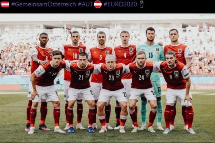 Timnas Austria bersua timnas Ukraina dalam laga pamungkas Grup C EURO 2020