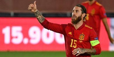 Pintu Timnas Spanyol di EURO 2020 sudah Tertutup, Sergio Ramos Cuma Bisa Kirim Doa