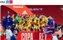15 Pemain Barcelona Baru Pertama Kali Juara, Kala Copa del Rey Bukan Piala Kaleng-kaleng