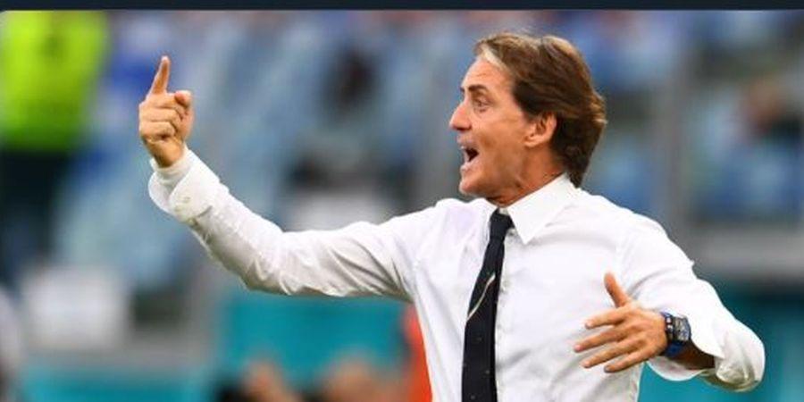 Italia Menang Susah Payah, Mancini Sebut Austria Lebih Sulit dari Belgia atau Portugal