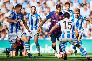 Sociedad Vs Barcelona - Pelatih Tuan Rumah Keder Soal Lionel Messi