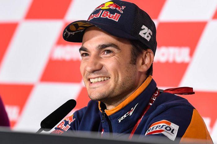 Meski tidak pernah raih gelar juara dunia, Dani Pedrosa mendapat gelar Legenda MotoGP