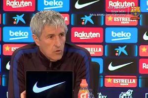 Hasil Barcelona vs Espanyol Positif, Quique Setian Lontarkan Komentar Tak Terduga