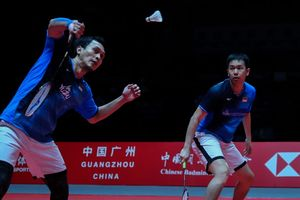 BWF World Tour Finals 2019 - Ada Sedikit Nyeri di Lengan Ahsan, The Daddies Fokus Racik Strategi di Semifinal