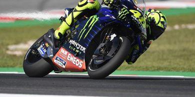 Kecewa, Valentino Rossi Menyayangkan Hasil Balapan di Misano