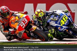 Marc Marquez Sebut Dirinya Tak Pernah Ada Niatan Lampaui Rekor Valentino Rossi