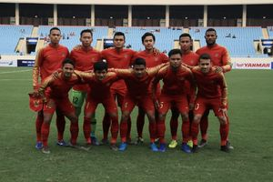 Sedang Berlangsung! Link Live Streaming Timnas U-23 Indonesia Vs Vietnam