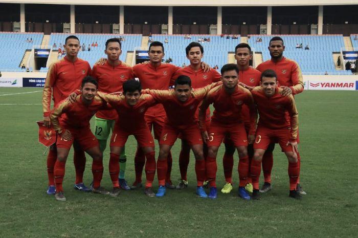 Timnas U-23 Indonesia di Laga Perdana Kualifikasi Piala Asia U-23 2020 kontra Thailand, Jumat (22/3/2019). Hari Ini, Minggu (24/3/2019), Timnas akan menghadapi Vietnam dalam laga hidup mati.