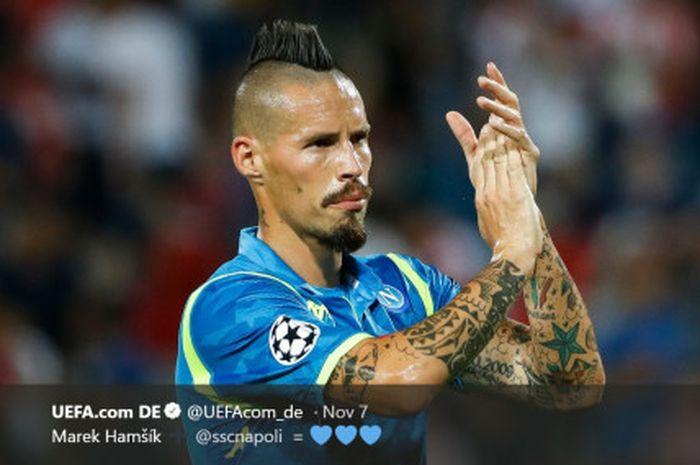 Mantan Direktur Olahraga Napoli mengungkapkan alasan kapten Napoli Marek Hamsik tidak pernah bergabung dengan Juventus maupun Inter Milan